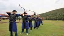 Okçular zorlu turnuva için kampta