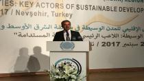 Aracı Şehirler Forumu'nun açılışını Başkan Köşker yaptı