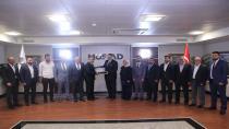 Gebze MÜSİAD'dan genel başkana ziyaret