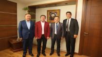 Kaymakam Gözen'den Başkan Demirci'ye İadeyi Ziyaret