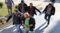 Silah kaçakçıları adliyeye sevk edildi