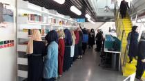 Öğrenciler Beylikbağı Kütüphanesi'ni ziyaret etti