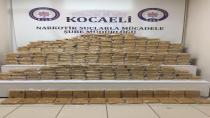 Kocaeli'de 214 kilo eroin ele geçirildi