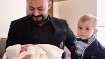 Levent Köşker baba oldu
