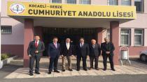 Kaymakamdan Cumhuriyet Anadolu Lisesine Ziyaret