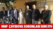 MHP Çayırova sorunları dinledi