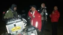 Ormanda kaybolan 3 motorcuyu AKUT kurtardı