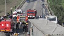Gebze'de zincirleme trafik kazası: 1 ölü, 4 yaralı