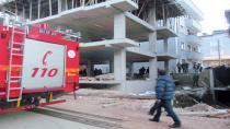Gebze'de duvar çöktü: 1 ölü