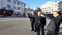 Kaymakam Hasan Gözen Okulları Denetledi