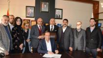 Başkan Toltar, MÜSİAD'a üye oldu