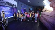 Genlik Merkezi ve Bilgievlerinden 150 Öğrenci Tuzla Viasea Akvaryumunu Ziyaret Etti