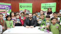 """Çocuk Edebiyatı Günleri Kapsamında """" Okuyoruz Söyleşiyoruz """"  Eğitim Projesinin Yeni Yıldaki  İlk Programını Gerçekleştirdi"""