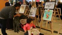 ''KO-MEK Resim'den Usta İşi Eserler''