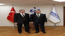 Başkan Yardımcısı Işık'tan Genel Sekreter Bayram'a hayırlı olsun ziyareti