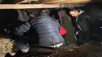 Kaybolan kadın samanlıkta bulundu