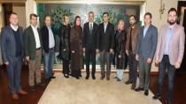 Başkan Köşker Beylikbağı teşkilatını ağırladı