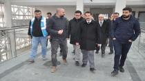 Yaman, yapımı bitme aşamasına gelen Fatih Devlet Hastanesini inceledi