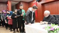 Payitaht Dizisinin Tahsin Paşası Aktör ve Yazar Bahadır Yenişehirlioğlu  Çayırova'lı Öğrencilere Abdülhamid'i Anlattı