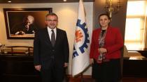 Başkan Köşker'e Zonguldak'tan konuk