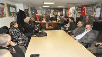 CHP'den Muhtarlar Derneği Ziyareti
