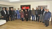 CHP Gebze'den Saadet Partisi'ne Ziyaret