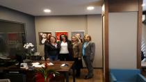 CHP Gebze'den İl Kadın Kolları Başkanına Ziyaret