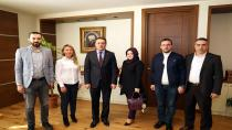 Başkan Demirci'ye Ziyaretçi Akını