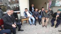 Başkan Köşker Mimar Sinan sakinlerini dinledi