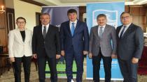 Başkan Köşker Sağlıklı Kentler Birliği Toplantısında