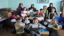 Öğrencilerden Afrin'e büyük destek