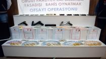 Yasa dışı bahis operasyonu: 14 kişi tutuklandı, 53 kişi serbest
