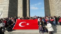"""""""Gençlik Şühedanın İzinde"""" Projesiyle 1700 Lise 1.'İnci Sınıf Öğrencisi Çanakkale'de"""