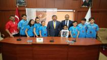 Darıcalı Karateciler Balkan Şampiyonası'nda