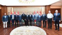 Vali Aksoy Siyasi Parti İl Başkanları İle Toplantı Gerçekleştirildi