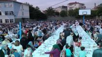 İlk iftar sofrası Arapçeşme'de kuruldu