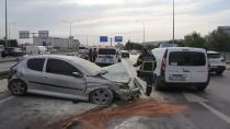 Kontrolden çıkan otomobil cipe çarptı: 3 yaralı