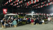 CHP'den iftar sonrası ikram çadırı