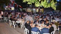 Dilovası'nda iki mahalleyi buluşturan iftar
