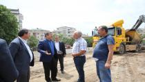 Darıca'da Kapalı Pazar İnşaatı Başladı