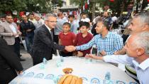 Başkan Köşker Silvanlılarla Kardeşlik İftarında Buluştu