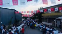 CHP'den bin 500 kişilik iftar