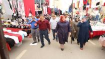 Karabacak Çarşı Pazar Dolaşıyor