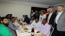 Vakıf ve GTÜ öğrencileri iftar yaptı