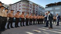 Gebze'de 21 çarşı ve mahalle bekçisi göreve başladı