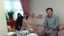 """""""Saadetli Şengün'den şehit ailesine ziyaret"""""""
