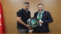 """""""Kocaeli Spor'dan Çelik'e ziyaret"""""""