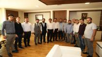 AK Gençlerden Baştan Demirci'ye Ziyaret