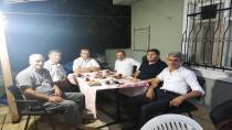 Çayırova Yozgatlılar derneğinde ziyaretler devam ediyor