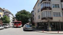 Gebze'de korkutan ev yangını